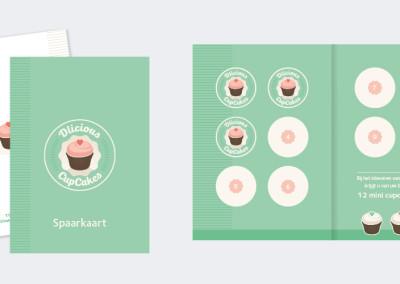 Dlicious Cupcakes – huisstijl